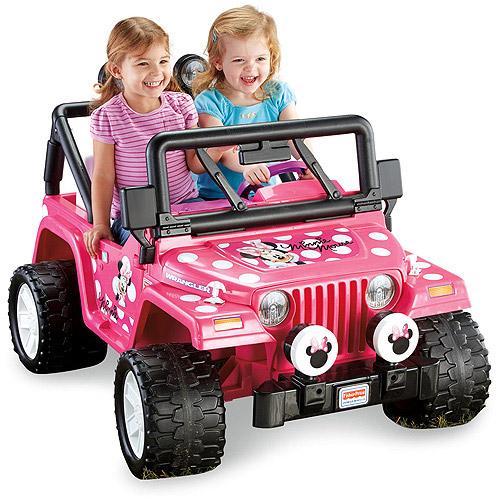[Awesome Jeep=> Fisher-Price Power Wheels Disney Minnie ...