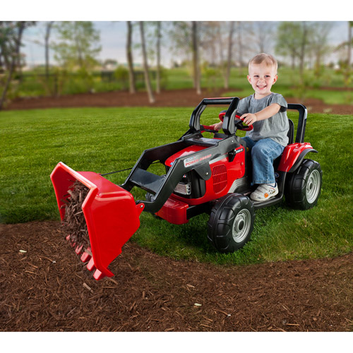 Power Wheels Ride On Tractor : Moved permanently